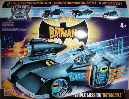 Triple Mission Batmobile Batman vehicle