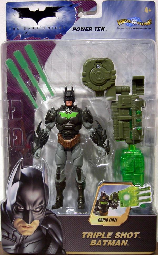 Triple Shot Batman Dark Knight Deluxe action figure