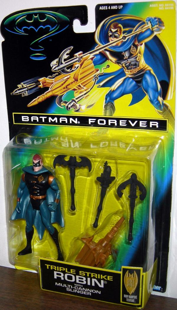 Triple Strike Robin Batman Forever Movie action figure
