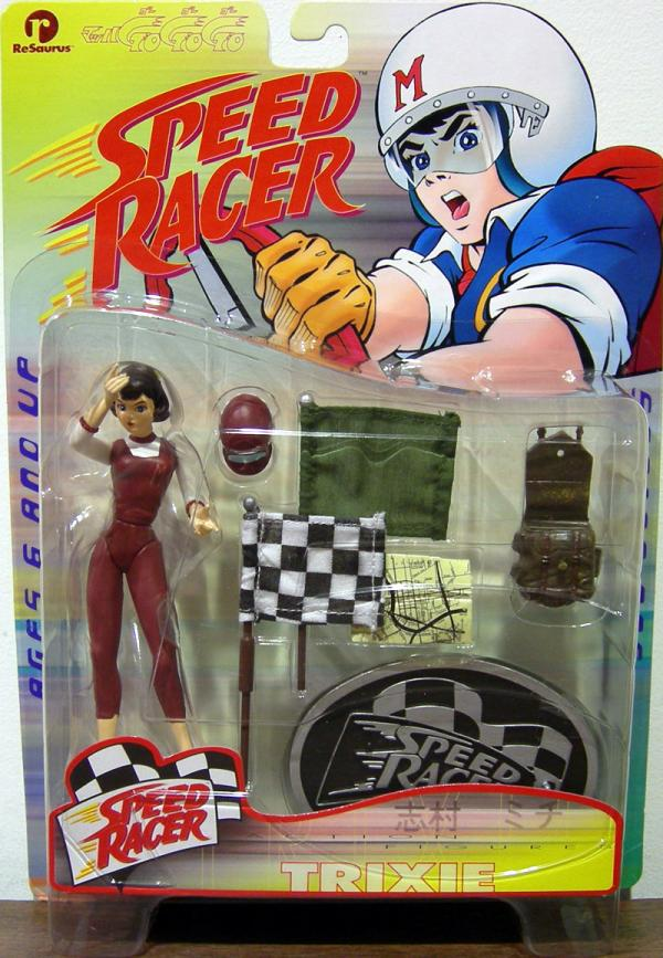 Trixie Speed Racer action figure