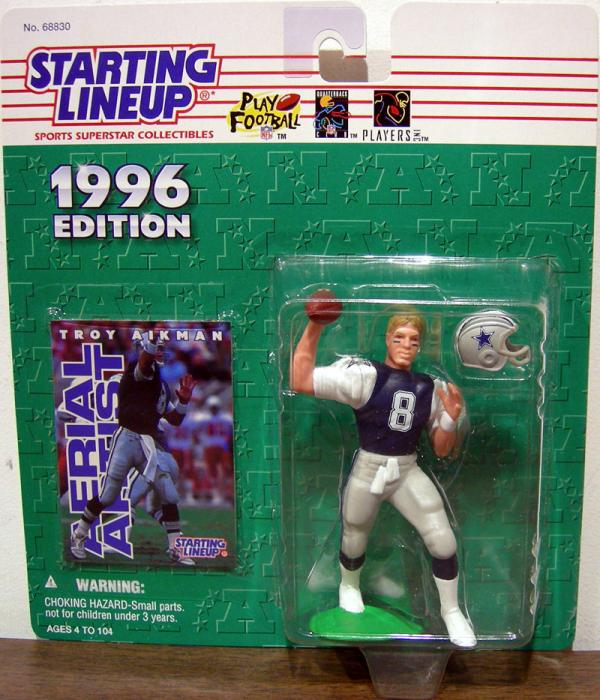 Troy Aikman 1996 Edition Starting Lineup Action Figure