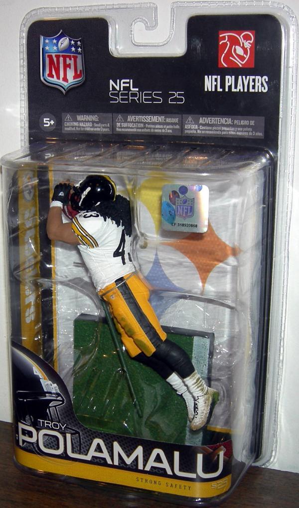 Troy Polamalu McFarlane Toys SportsPicks Series 25 Chase Variant action figure