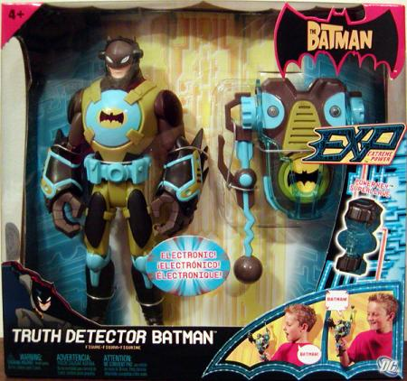 Truth Detector Batman EXP Extreme Power action figure