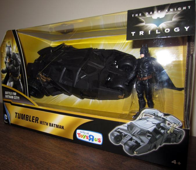 Tumbler Vehicle with Batman Action Figure Dark Knight Trilogy