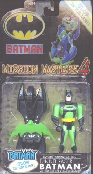 Tunnel Racer Batman Mission Masters 4 action figure