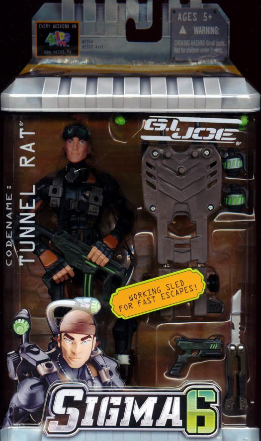 Tunnel Rat Sigma 6 GI Joe action figure