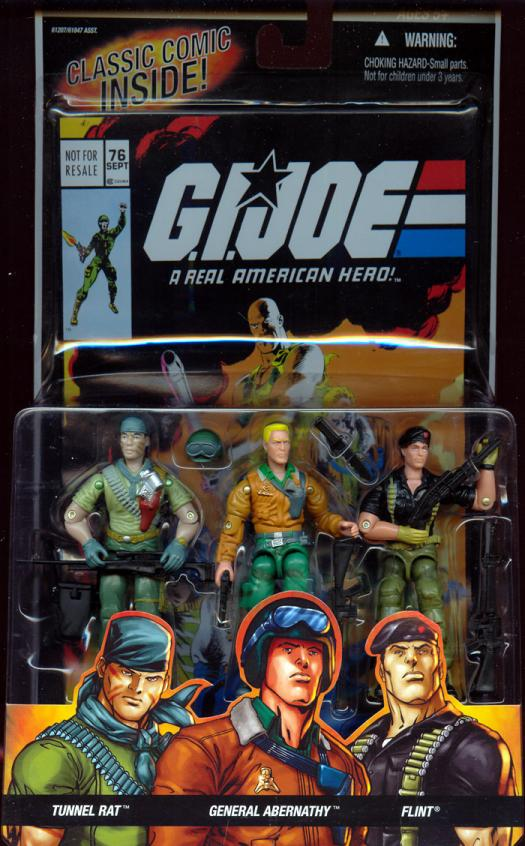 Tunnel Rat General Abernathy Flint GI Joe action figures