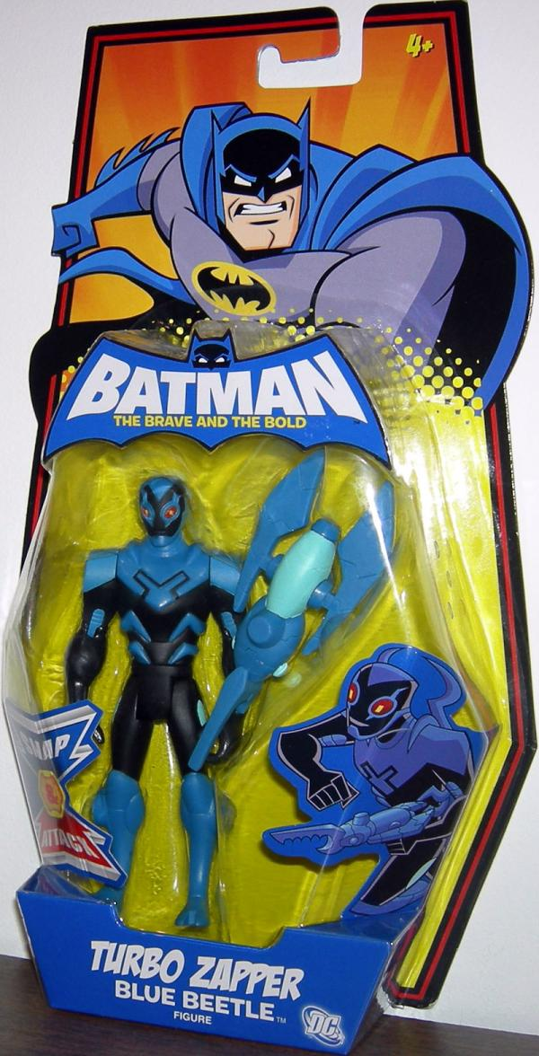 Turbo Zapper Blue Beetle Batman Brave Bold action figure
