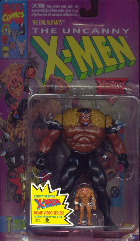 Tusk Action Figure Surprise Mutant Attack X-Men Toy Biz