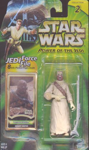 Tusken Raider Desert Sniper Star Wars Power Jedi action figure