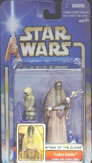 Tusken Raider Female Child Star Wars Attack Clones action figure