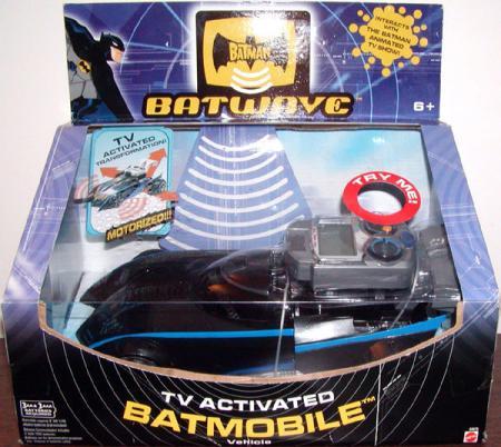 TV Activated Batmobile Batman Batwave Vehicle