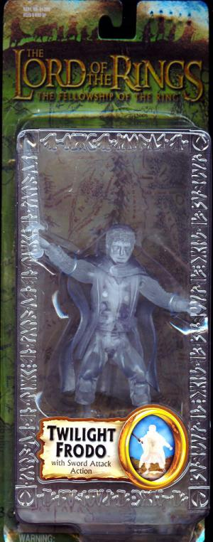 Twilight Frodo Lord Rings Fellowship Ring Trilogy action figure