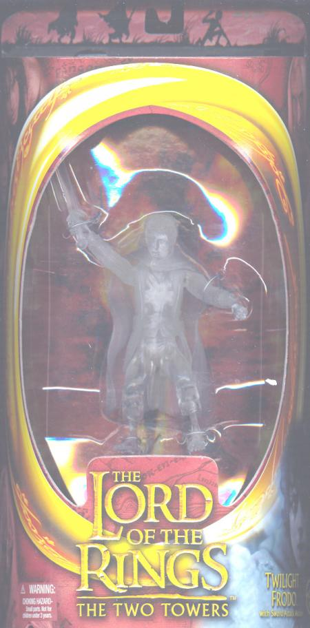 Twilight Frodo Lord Rings TTT Two Towers action figure