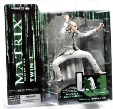 Twin 1 Matrix Reloaded Series 1 action figure