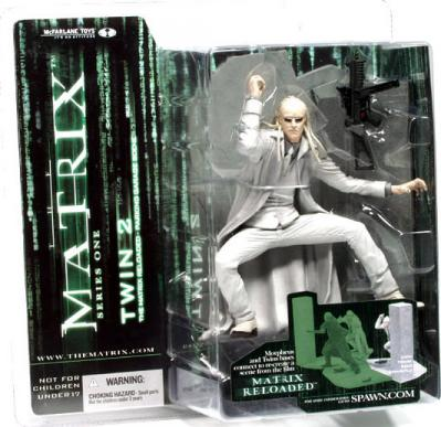 Twin 2 Matrix Reloaded Series 1 action figure