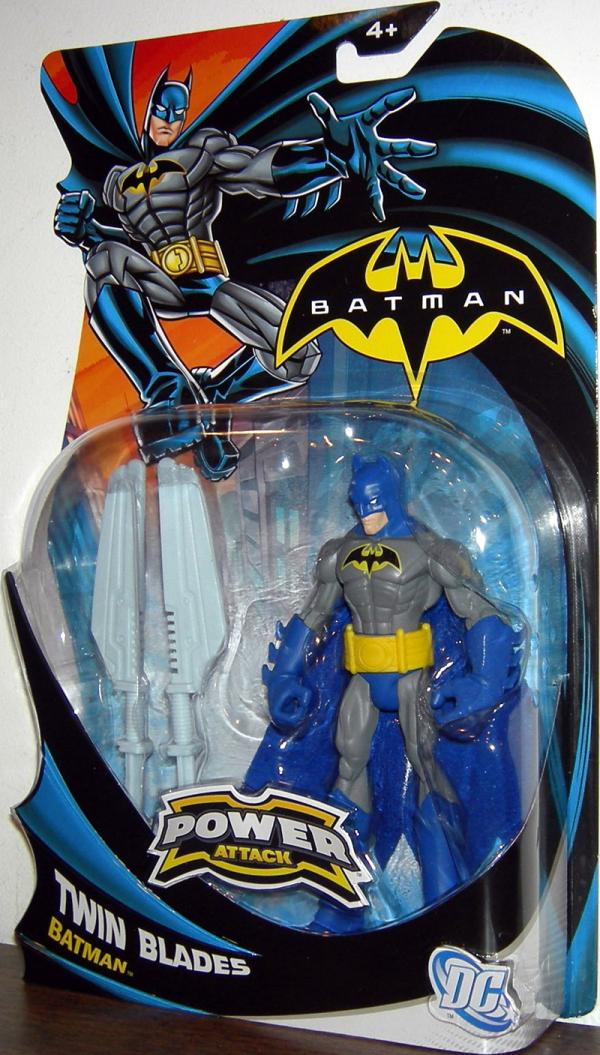 Twin Blades Batman Power Attack action figure