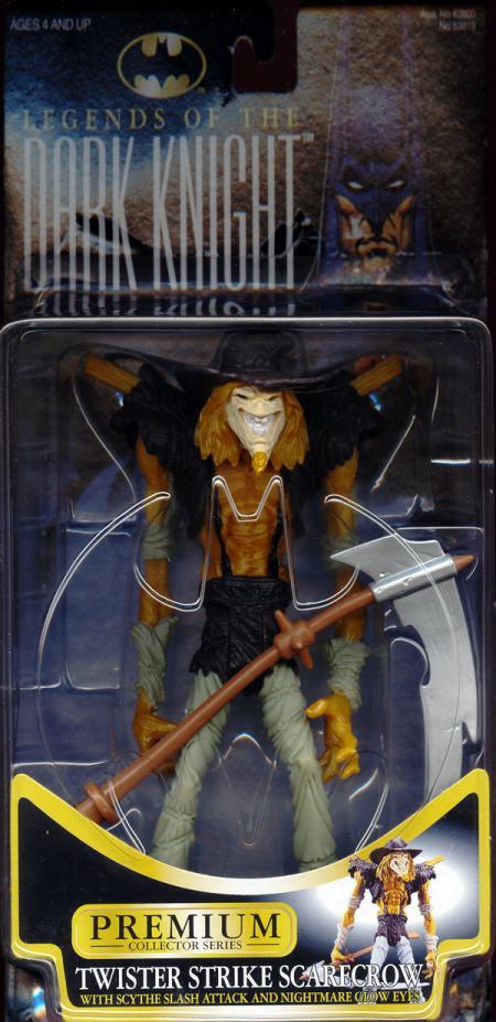 Twister Strike Scarecrow Batman Legends Dark Knight action figure