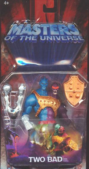 Two Bad Masters Universe He-Man action figure