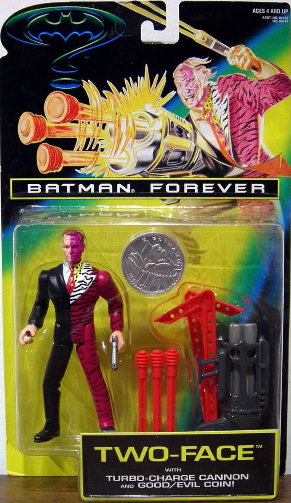 Two-Face Batman Forever Movie Turbo-Charge Cannon action figure