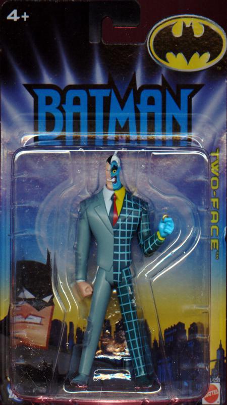 Two-Face 2005 Batman Animated Mattel Action Figure