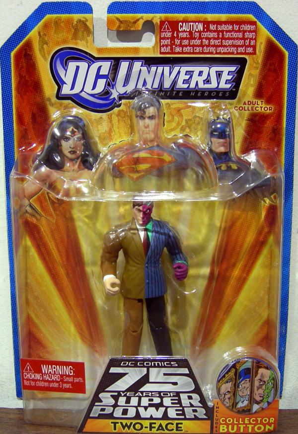 Two-Face DC Universe Infinite Heroes 75th Anniversary action figure
