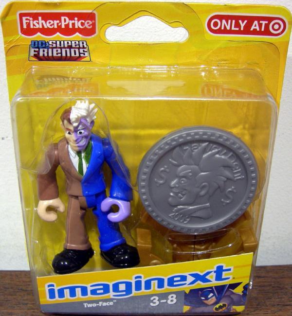 Two-Face Imaginext Action Figure DC Super Friends Target Exclusive