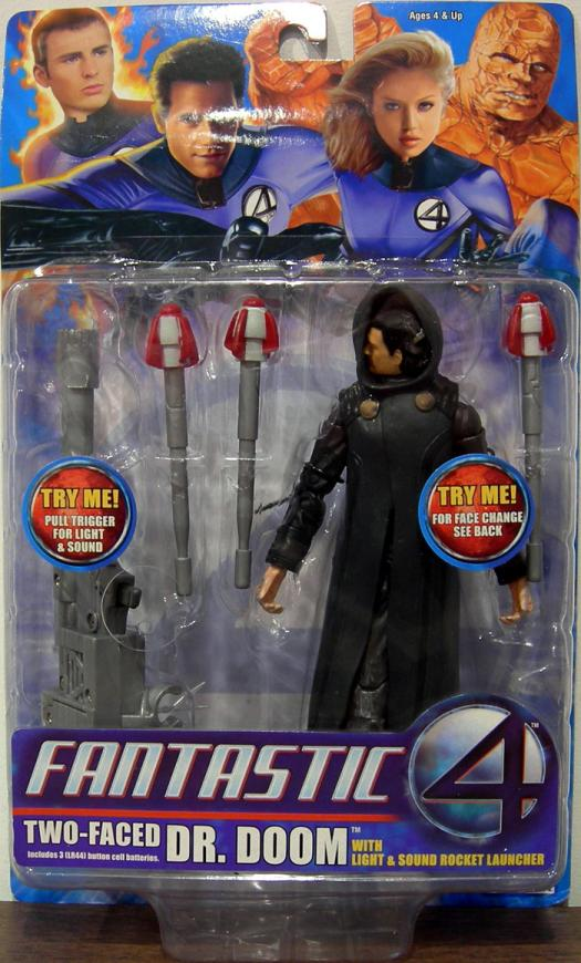 Two-Faced Dr Doom Fantastic 4 Four Movie action figure