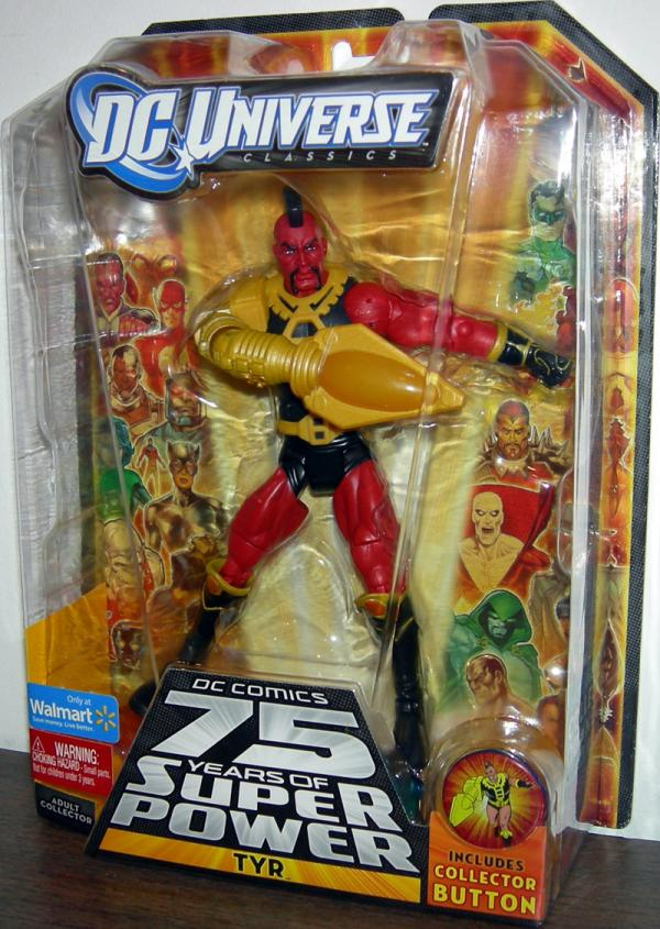 Tyr DC Universe Classics 75 Years Super Power action figure