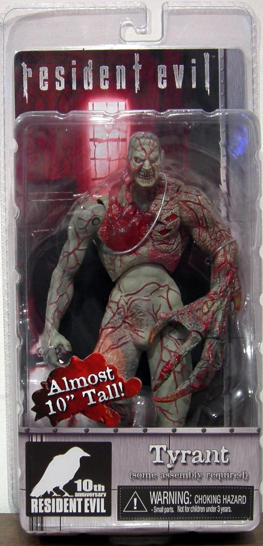 Tyrant Action Figure 10th Anniversary Resident Evil Neca