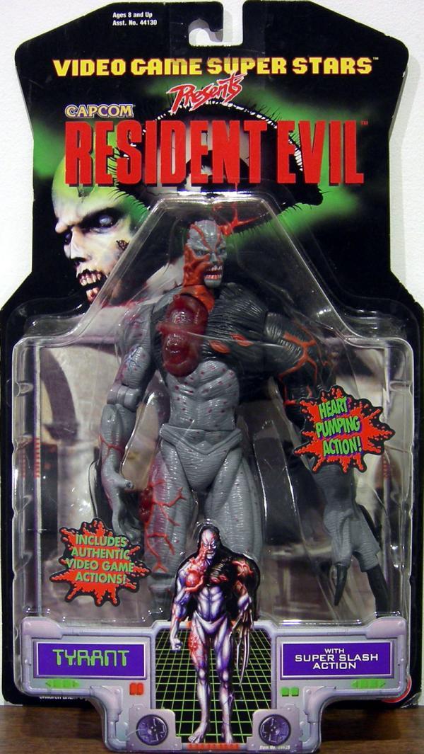 Tyrant Resident Evil Toy Biz Capcom Super Slash Action figure