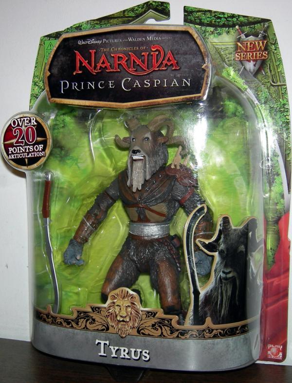 Tyrus Chronicles Narnia Prince Caspian action figure