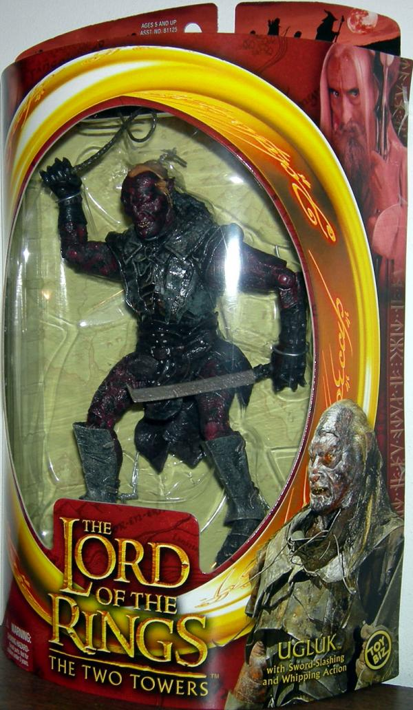 Ugluk Figure Lord Rings Two Towers Toy Biz