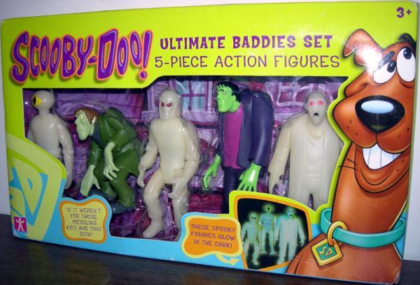 Ultimate Baddies Set Scooby-Doo action figures