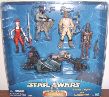 Ultimate Bounty Star Wars Saga action figures