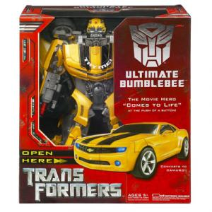 Ultimate Bumblebee Transformers action figure