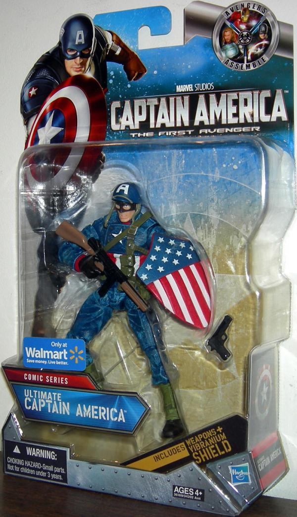 Ultimate Captain America Comic Series Walmart Exclusive action figure