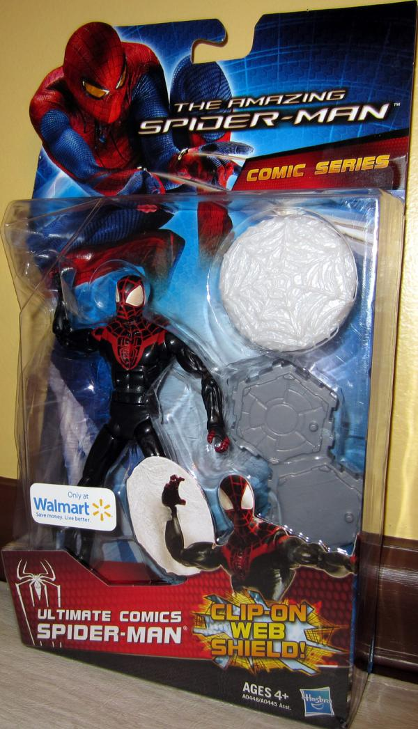 Ultimate Comics Spider-Man Action Figure Amazing Movie Walmart