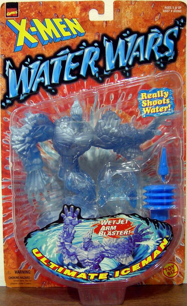 Ultimate Iceman X-Men Water Wars action figure