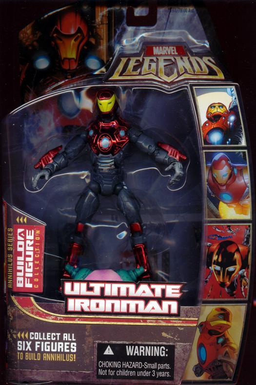 Ultimate Iron Man Marvel Legends Masked action figure