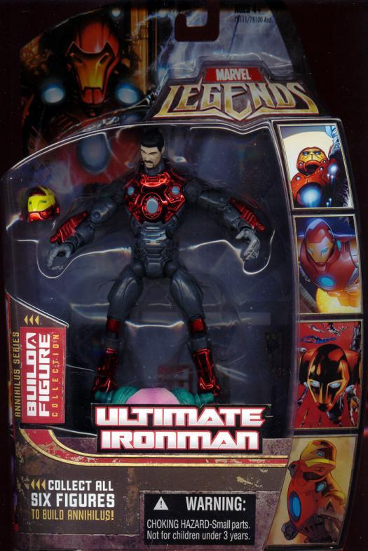 Ultimate Iron Man Marvel Legends Unmasked action figure