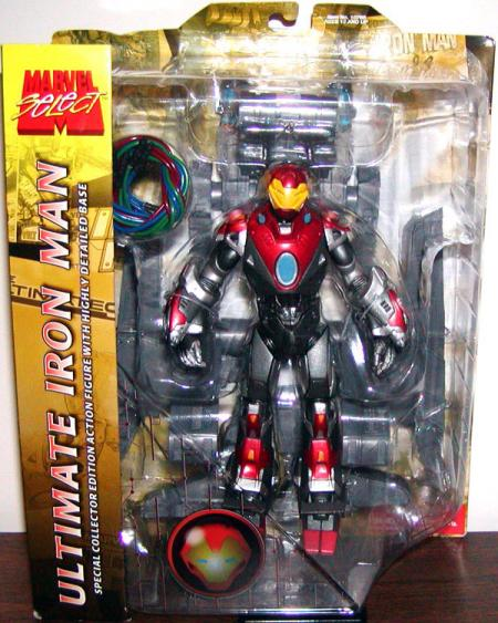 Ultimate Iron Man Marvel Select action figure