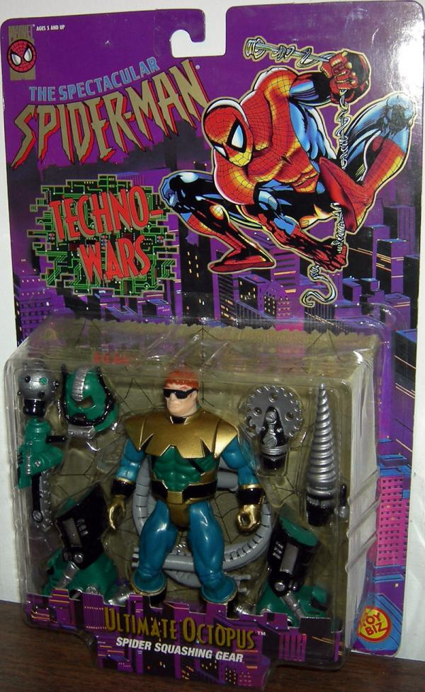 Ultimate Octopus Spectacular Spider-Man Techno-Wars action figure