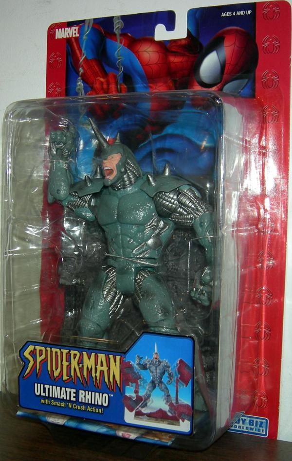 Ultimate Rhino Action Figure Spider-Man Classic Smash Crush