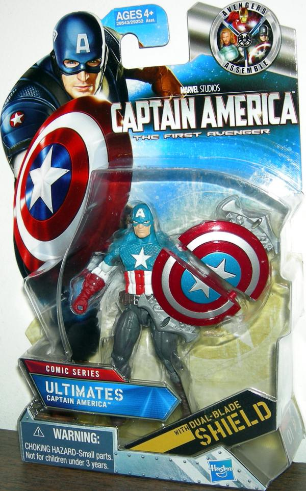 Ultimates Captain America 01 Comic Series action figure