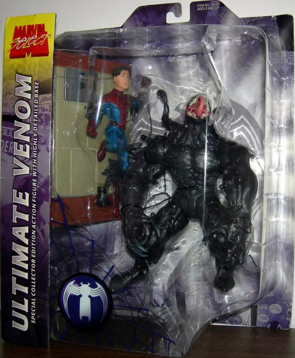 Ultimate Venom Marvel Select No Chest Logo action figure