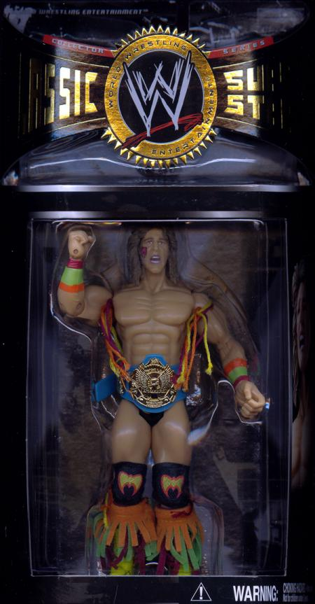 Ultimate Warrior WWE Classic Super Stars Series 7 action figure