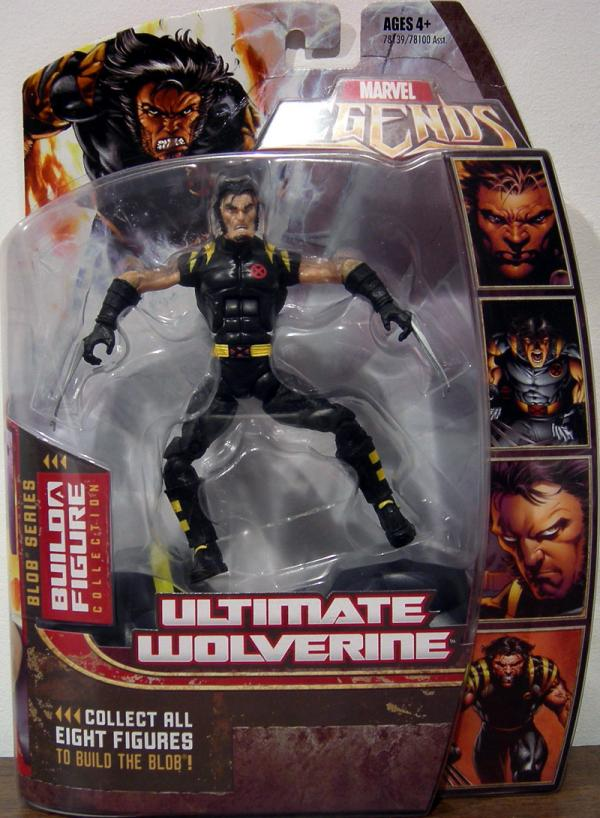 Ultimate Wolverine Marvel Legends Blob Series action figure