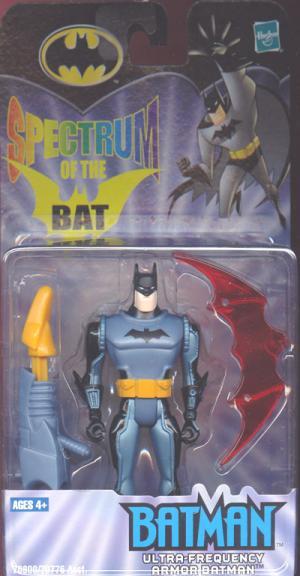 Ultra-Frequency Armor Batman Spectrum Bat action figure