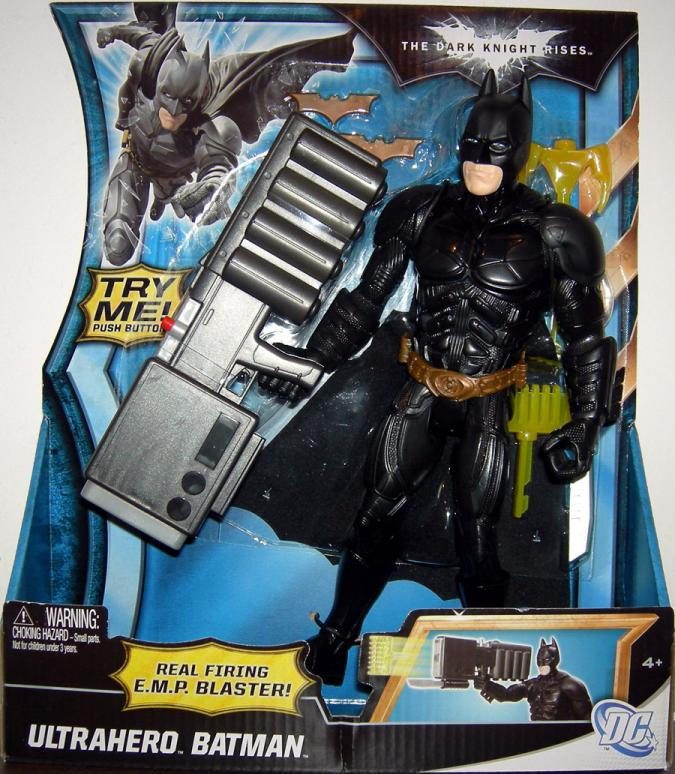 10 inch Ultrahero Batman, Dark Knight Rises
